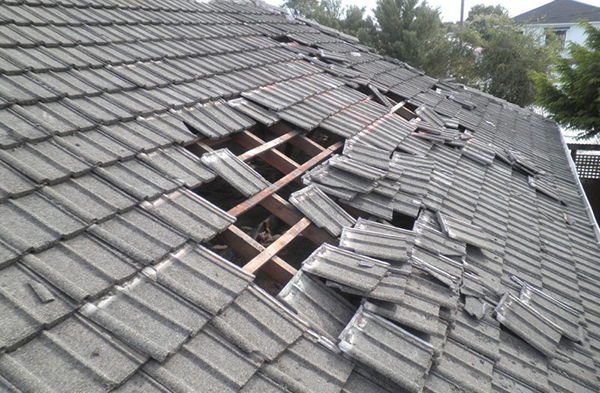 Storm Roof Damage